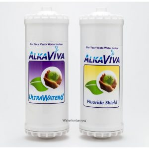 Ultrawater - Fluoride Arsenic shield filter replacement filter package for Vesta