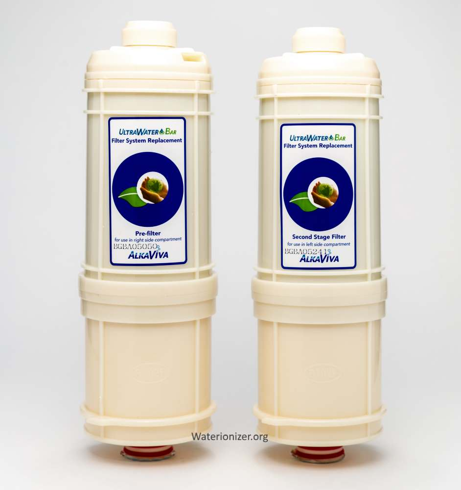 AlkaViva H2 Ionizers Athena Replacement Filters