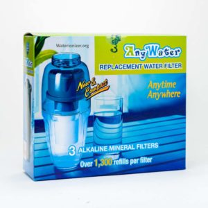 AnyWater 3-pack refill cartridges - replacement filters